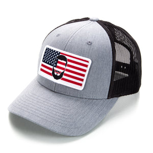 """BEARD FLAG"" Low Pro Trucker Hat"