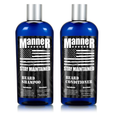 Manner Complete Beard Care Kit
