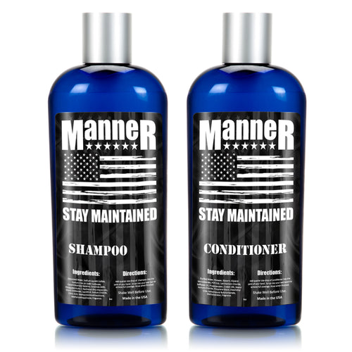 Manner Shampoo and Conditioner Combo - 8oz