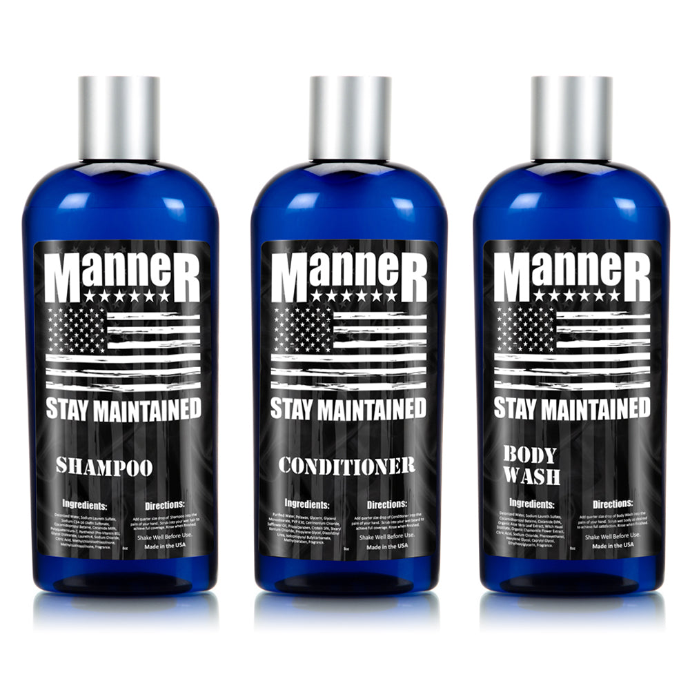 Manner Total Body Care Kit