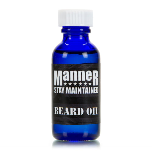 Manner Beard Oil - 1oz