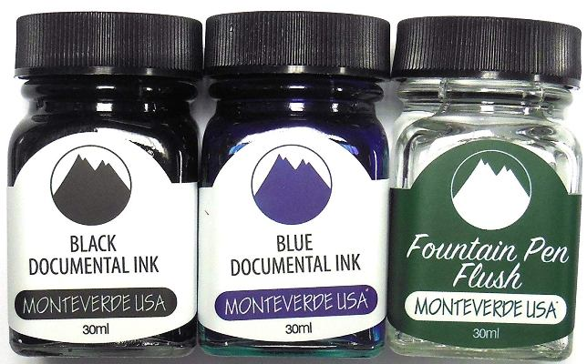 monteverde-three-piece-set-ink-bottle-pensavings