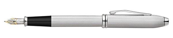cross-townsend-brushed-platinum-fountain-pen-pensavings
