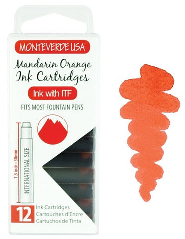 monteverde-ink-cartridge-mandarin-orange-pensavings