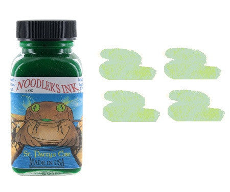 noodlers-fountain-pen-ink-bottle-saint-pattys-highlighter-pensavings