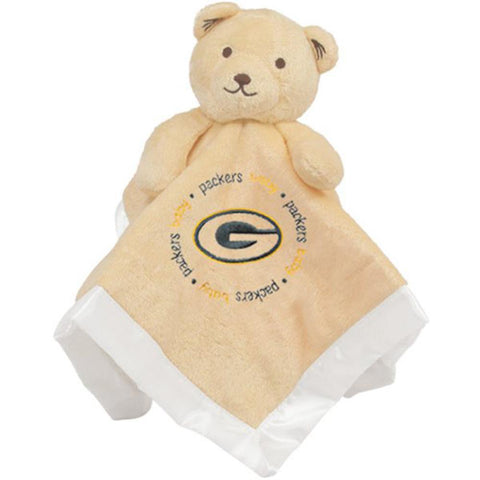 Green Bay Packers Nfl Infant Security Blanket (14 In X 14 In)