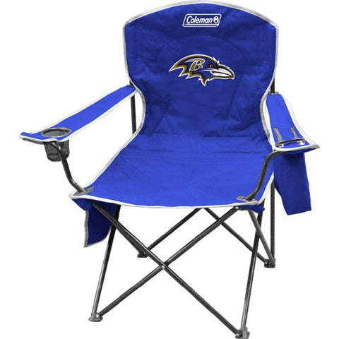 Baltimore Ravens Nfl Cooler Quad Tailgate Chair