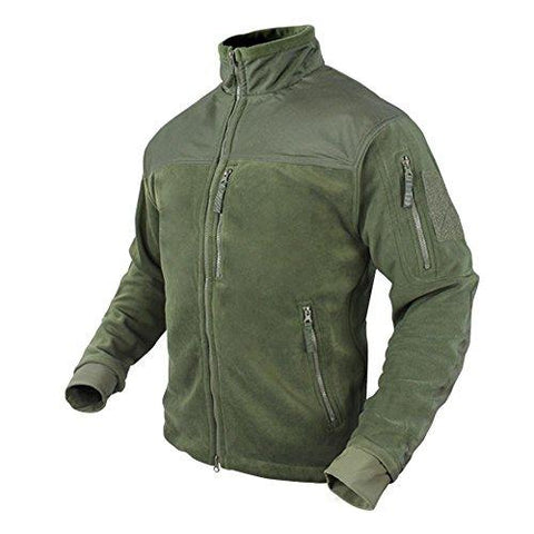 Alpha Fleece Jacket Color- Od Green (medium)