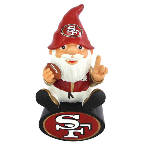 San Francisco 49ers Nfl Gnome On Team Logo