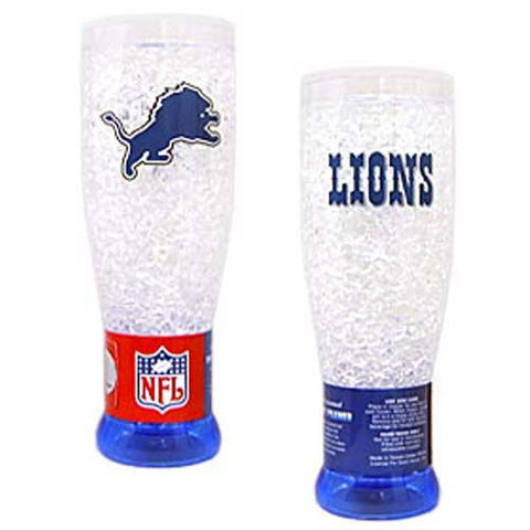 Detroit Lions Nfl Crystal Pilsner Glass