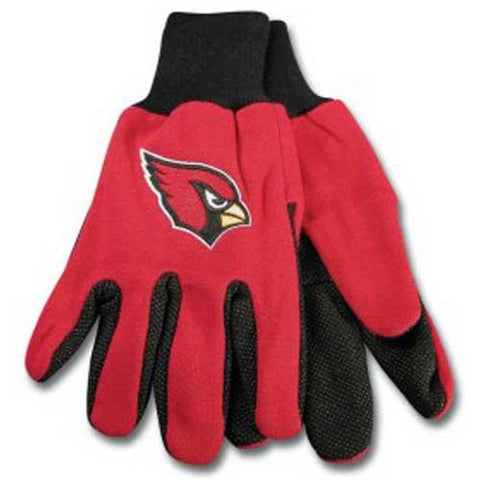 Arizona Cardinals Nfl Two Tone Gloves