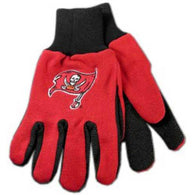 Tampa Bay Buccaneers NFL Two Tone Gloves