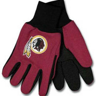 Washington Redskins NFL Two Tone Gloves