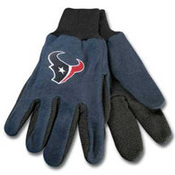 Houston Texans NFL Two Tone Gloves