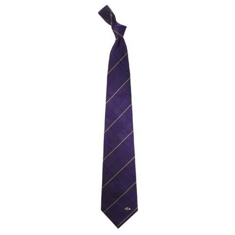 Baltimore Ravens Nfl Oxford Woven Mens Tie
