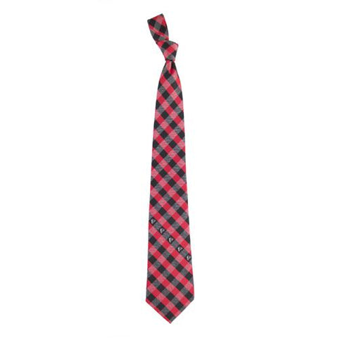 Atlanta Falcons Nfl Check Poly Necktie