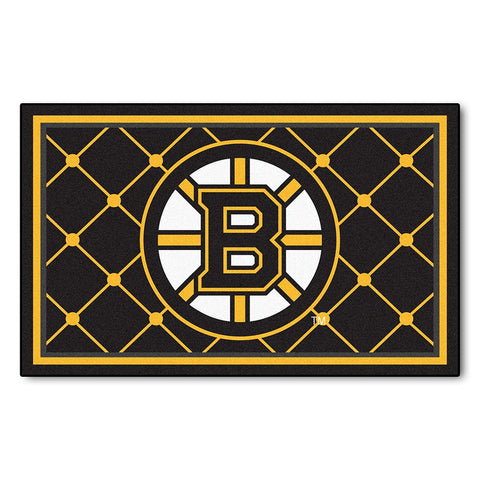 "Boston Bruins Nhl 4x6 Rug (46""x72"")"