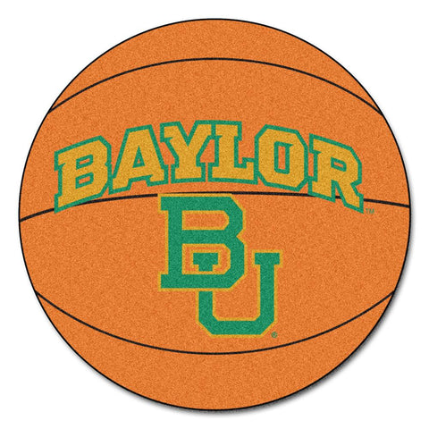 "Baylor Bears Ncaa ""basketball"" Round Floor Mat (29"")"