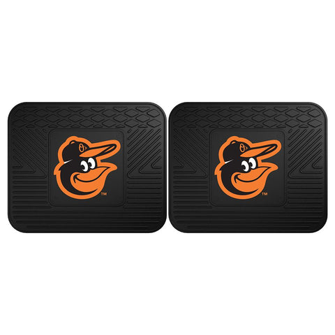 "Baltimore Orioles Mlb Utility Mat (14""x17"")(2 Pack)"