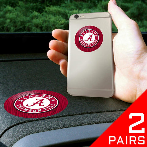 "Alabama Crimson Tide Ncaa ""get A Grip"" Cell Phone Grip Accessory (2 Piece Set)"