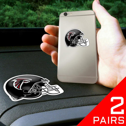 "Atlanta Falcons Nfl ""get A Grip"" Cell Phone Grip Accessory (2 Piece Set)"