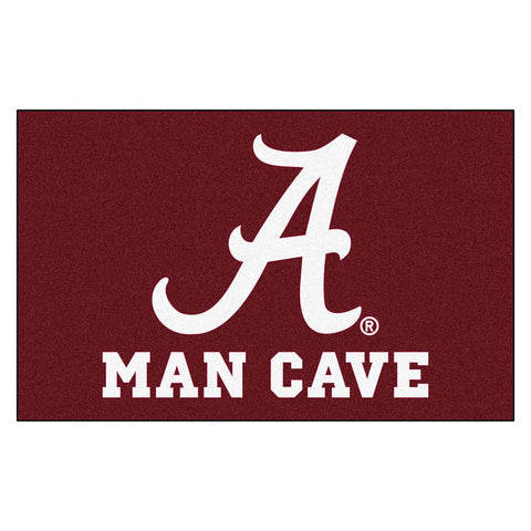 "Alabama Crimson Tide Ncaa Man Cave ""ulti-mat"" Floor Mat (60in X 96in)"