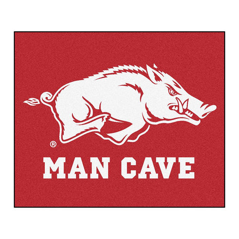 "Arkansas Razorbacks Ncaa Man Cave ""tailgater"" Floor Mat (60in X 72in)"
