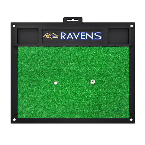 Baltimore Ravens Nfl Golf Hitting Mat (20in L X 17in W)
