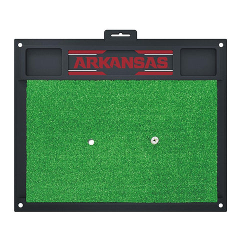 Arkansas Razorbacks Ncaa Golf Hitting Mat (20in L X 17in W)