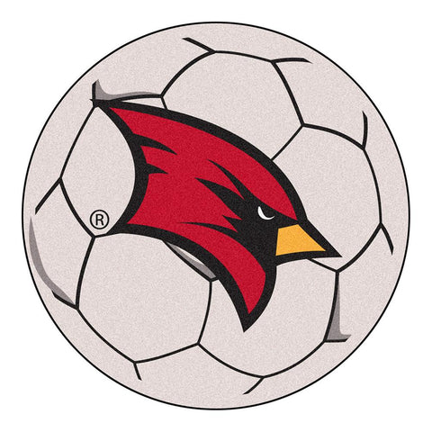 "Saginaw Valley State Cardinals Ncaa Soccer Ball Round Floor Mat (29"")"