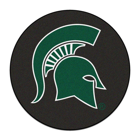"Michigan State Spartans Ncaa Puck Mat (29"" Diameter)"