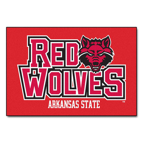 "Arkansas State Red Wolves Ncaa ""starter"" Floor Mat (20""x30"")"
