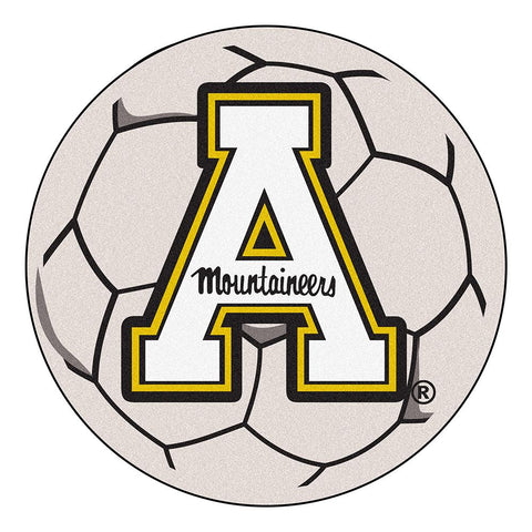 "Appalachian State Mountaineers Ncaa ""soccer Ball"" Round Floor Mat (29"")"