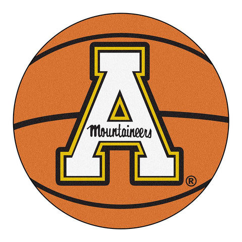 "Appalachian State Mountaineers Ncaa ""basketball"" Round Floor Mat (29"")"