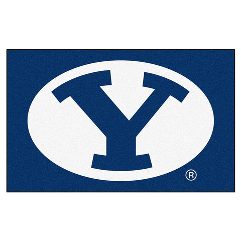 "Brigham Young Cougars Ncaa ""ulti-mat"" Floor Mat (5x8')"