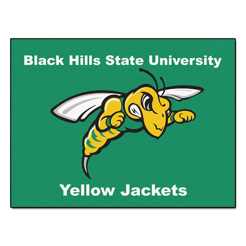 "Black Hills State Yellow Jackets Ncaa ""all-star"" Floor Mat (34""x45"")"