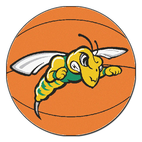 "Black Hills State Yellow Jackets Ncaa ""basketball"" Round Floor Mat (29"")"