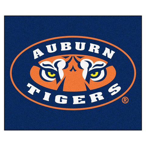 "Auburn Tigers Ncaa ""tailgater"" Floor Mat (5'x6') Tiger Eye"