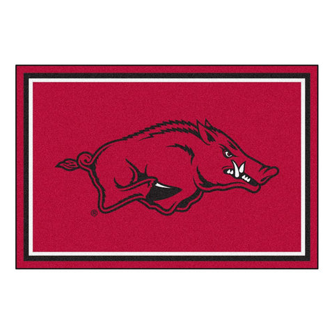 Arkansas Razorbacks Ncaa Floor Rug (5x8')