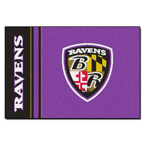 "Baltimore Ravens Nfl ""starter"" Uniform Inspired Floor Mat (20""x30"")"