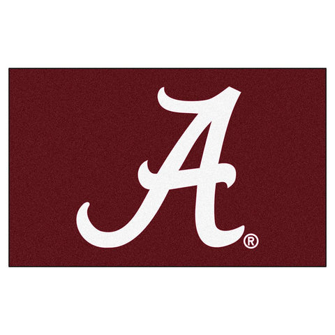 Alabama Crimson Tide Ncaa Ulti-mat Floor Mat (5x8')