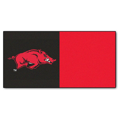 Arkansas Razorbacks Ncaa Team Logo Carpet Tiles