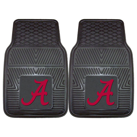 "Alabama Crimson Tide Ncaa Heavy Duty 2-piece Vinyl Car Mats (18""x27"")"