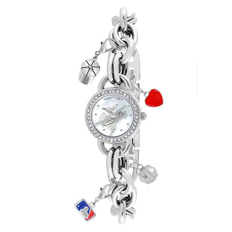 "Baltimore Orioles Mlb Women's ""charm Series"" Watch"