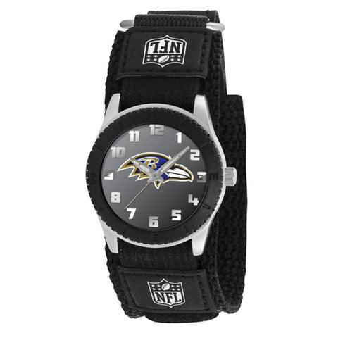 "Baltimore Ravens Nfl Kids ""rookie Series"" Watch (black)"