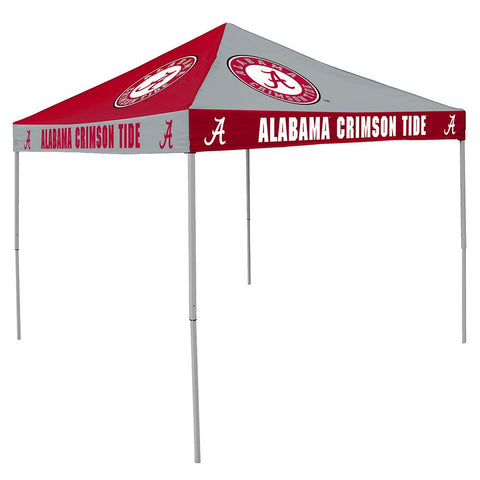 Alabama Crimson Tide Ncaa 9' X 9' Checkerboard Color Pop-up Tailgate Canopy Tent