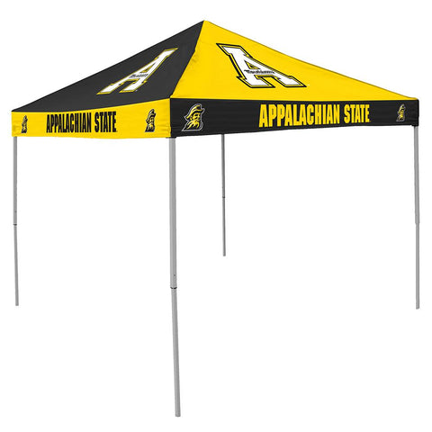 Appalachian State Mountaineers Ncaa 9' X 9' Checkerboard Color Pop-up Tailgate Canopy Tent