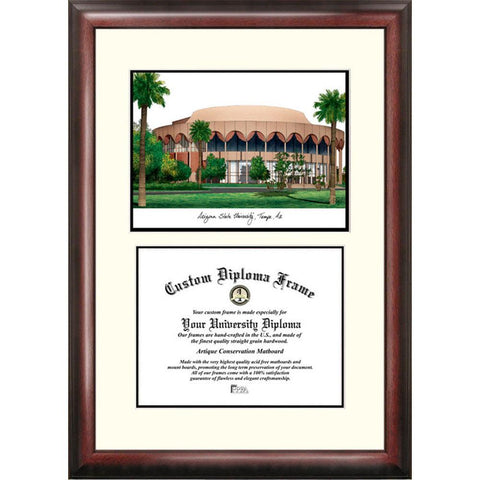 "Arizona State University ""scholar"" Diploma Frame"