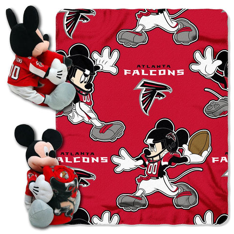 Atlanta Falcons Nfl Mickey Mouse With Throw Combo