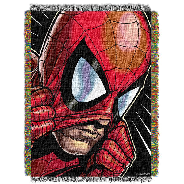 Marvel Peter Parker  Woven Tapestry Throw (48inx60in)